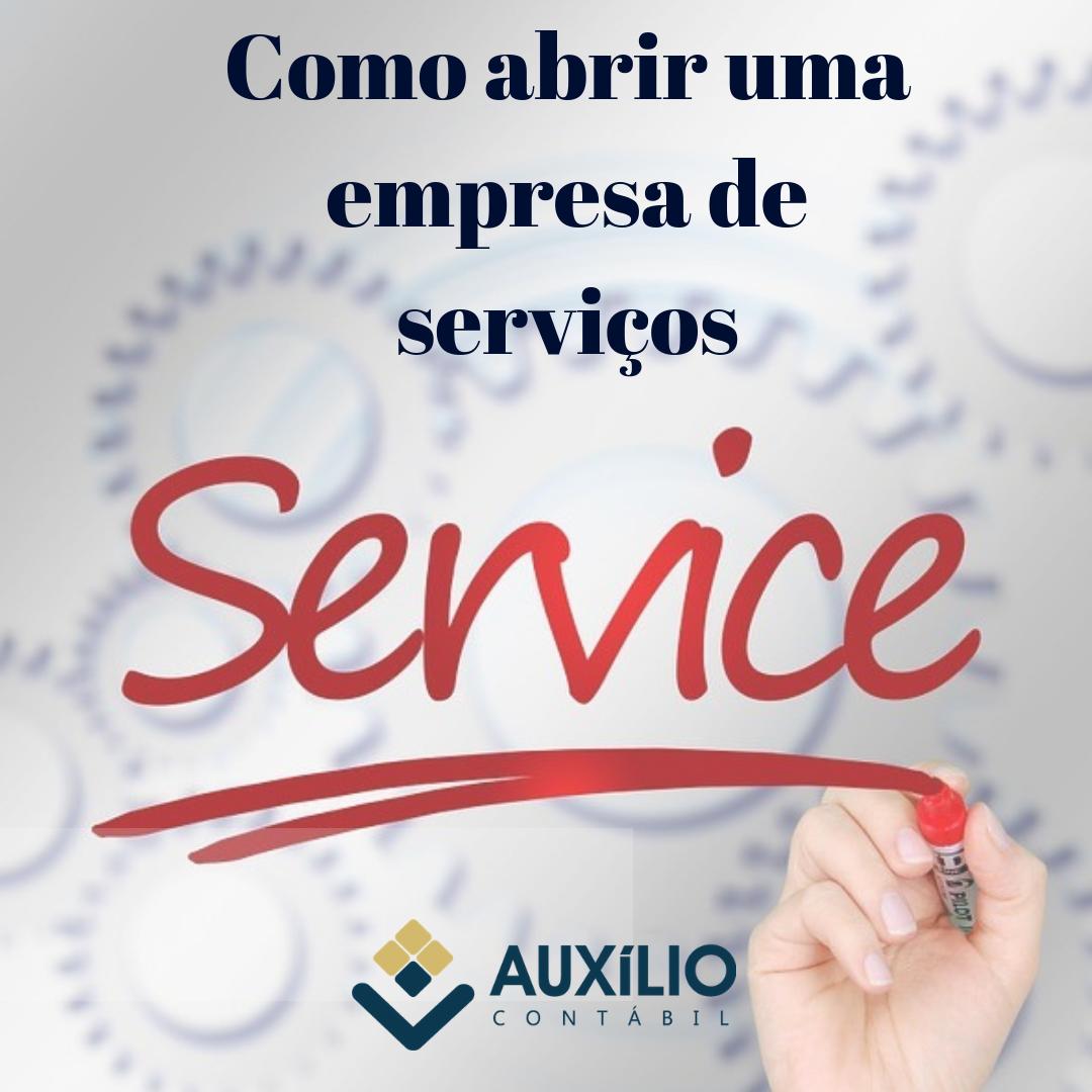 Como Abrir Uma Empresa De Serviços