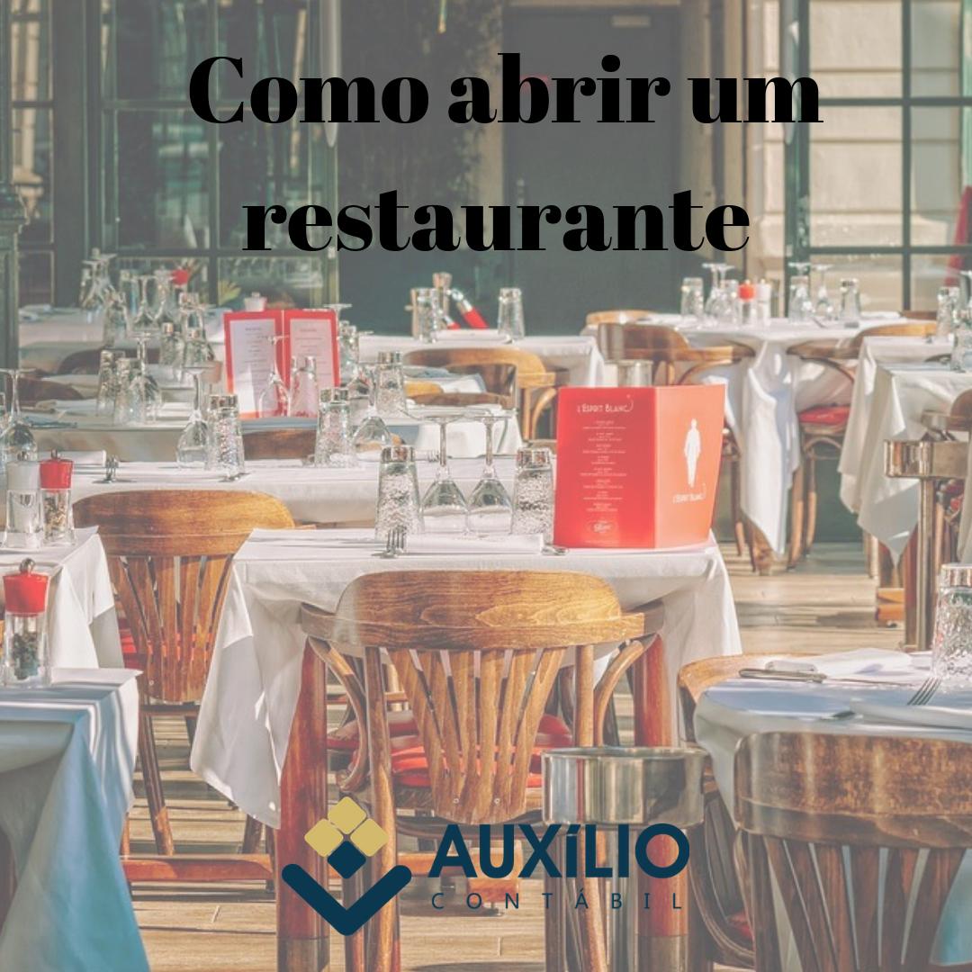 Como Abrir Um Restaurante